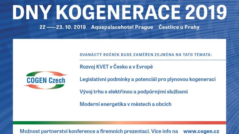 Pozvánka na Dny kogenerace 2019