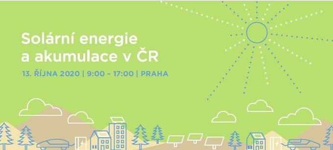 PŘESUNUTO: Největší událost roku zasvěcená solární energetice a akumulaci se koná 13. října