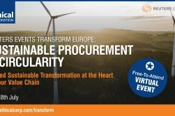 Virtual Reuters Events Transform Europe: Sustainable Procurement & Circularity