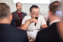 Pracovní snídaně s Luďkem Niedermayerem, poslancem EP