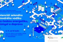 Webinář: Potenciál zeleného a modrého vodíku pro českou energetiku, průmysl a dopravu