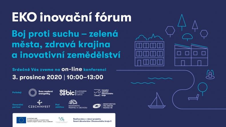 Ekoinovační fórum: Boj proti suchu – zelená města, zdravá krajina a inovativní zemědělství