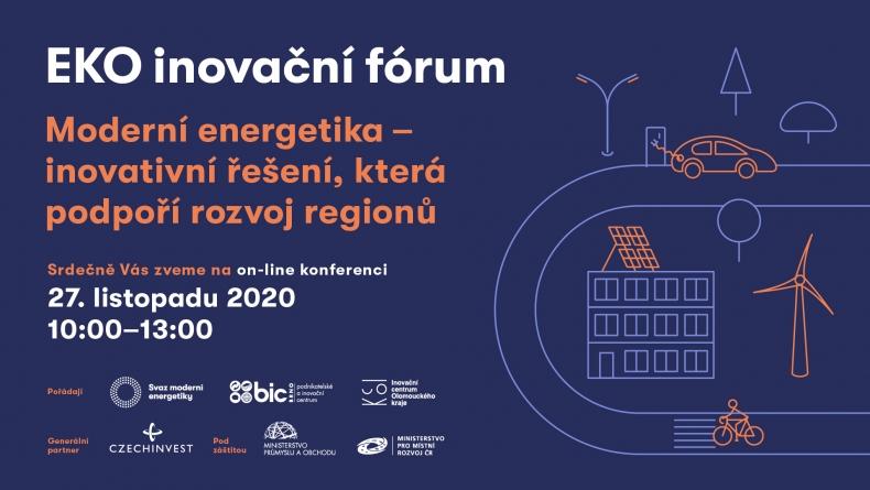 Ekoinovační fórum: Moderní energetika – inovativní řešení, která podpoří rozvoj regionů (část 3)