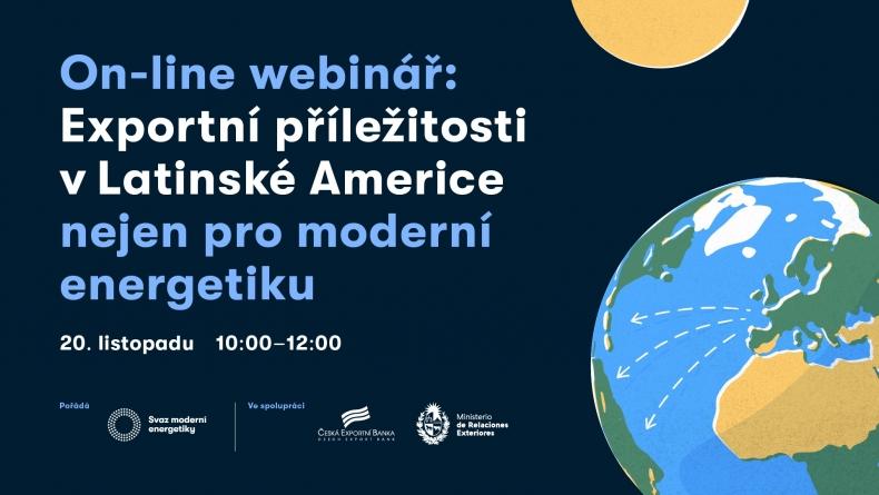 Webinář: Exportní příležitosti v moderní energetice nejen pro moderní energetiku