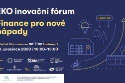 Ekoinovační fórum: startupy jsou cestou, která může udělat z Česka zemi pro budoucnost