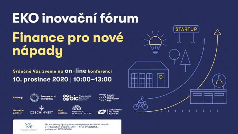 Ekoinovační fórum – Finance pro nové nápady