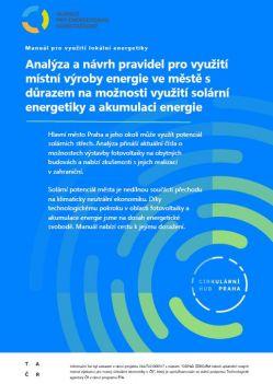 Manuál pro využití lokální energetiky