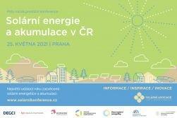 Konference Solární energie a akumulace v ČR